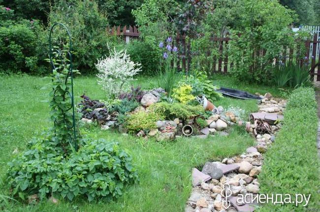 Садовый ручей своими руками
