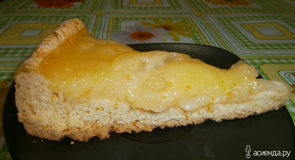 грушевый пирог в мультиварке без яиц рецепт