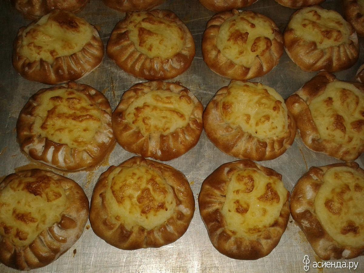 Калитки с картошкой рецепт с пошагово