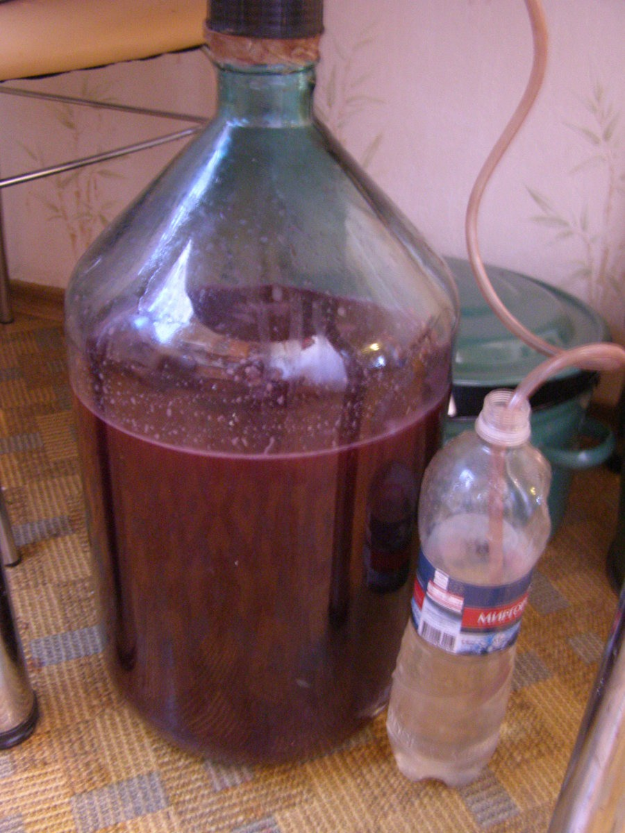 Как сделать гидрозатвор на вино 173