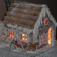 Мой пряничный домик - к Рождеству!
