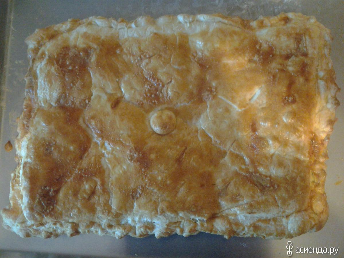 Пошаговый рецепт хачапури с сыром из слоеного теста - ИзыскON 2