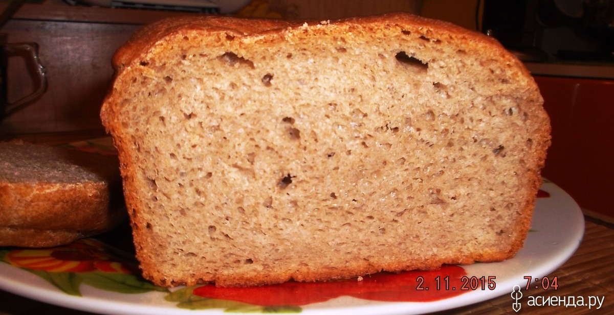 Как испечь ржаной хлеб в духовке пошаговый рецепт с
