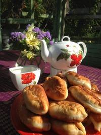 Самые вкусные пирожки с грибами ( рецепт)