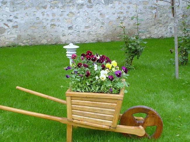 Фото поделки для сада и дачи своими руками