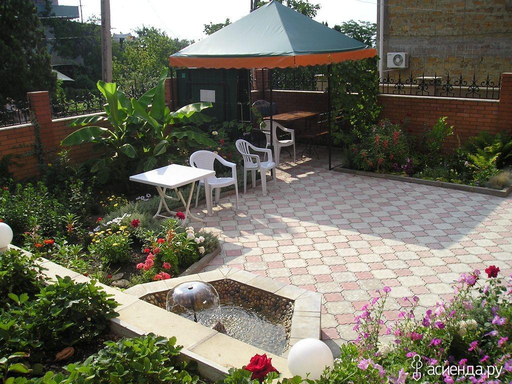 Частный двор и дом дизайн своими руками фото