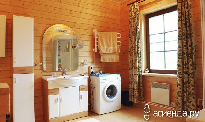Туалет и ванная в частном доме своими руками 91