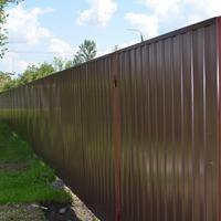 Мы построили забор!