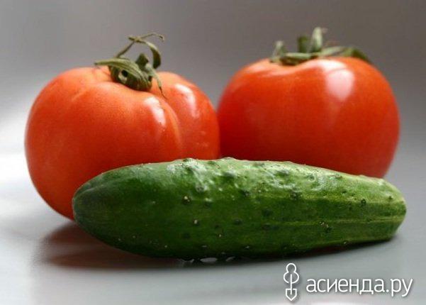 Почему нельзя есть вместе огурцы и помидоры