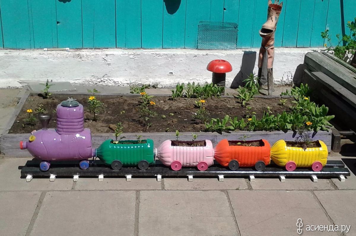 Поделки из пластиковых бутылок своими руками Handmade Idea 74
