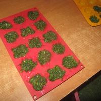 Разнообразим заморозку зелени...