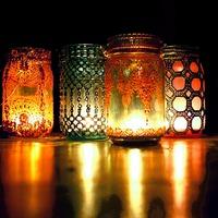 Эксклюзив своими руками - светильники для дачи