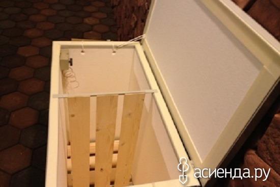 Как сделать ящик для хранения овощей на балконе зимой своими.
