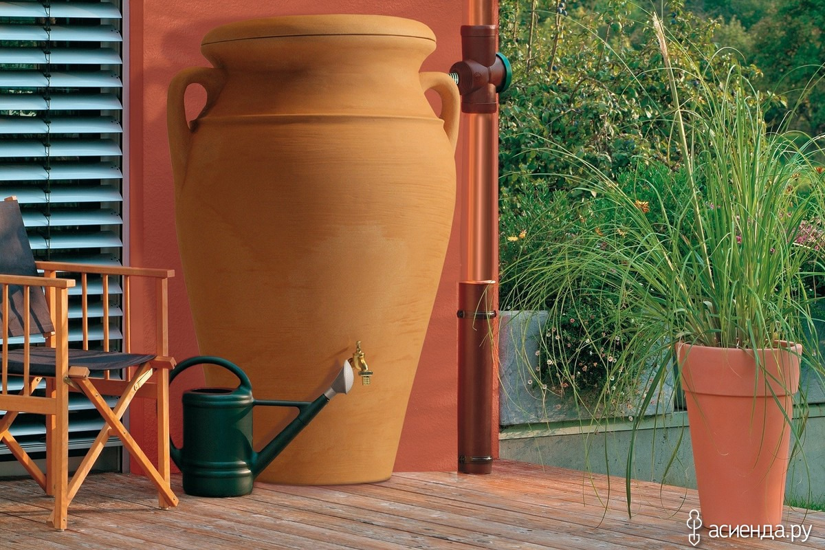 Системы для сбора дождевой воды своими руками