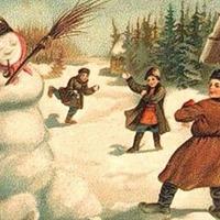 Любопытная история: зачем на Руси лепили снеговиков...