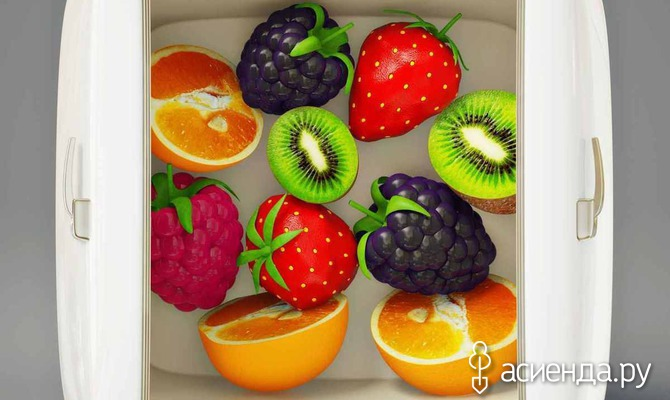 Заморозка фруктов: этапы, рекомендации