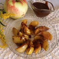 Пивные яблоки в шоколадном соусе