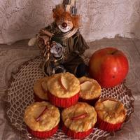 Яблочно-сырные маффины