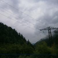Горы Осетии.