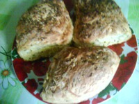 Кабачковый хлеб.