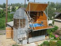Бассейн на балконе)