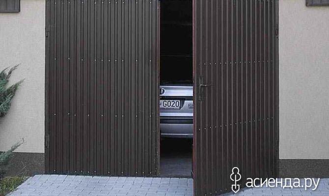 Подъемные и металлические ворота для гаража