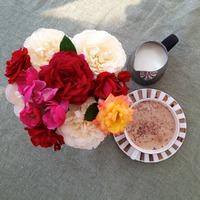 Розы в саду. Календарь