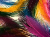 Как красить перья