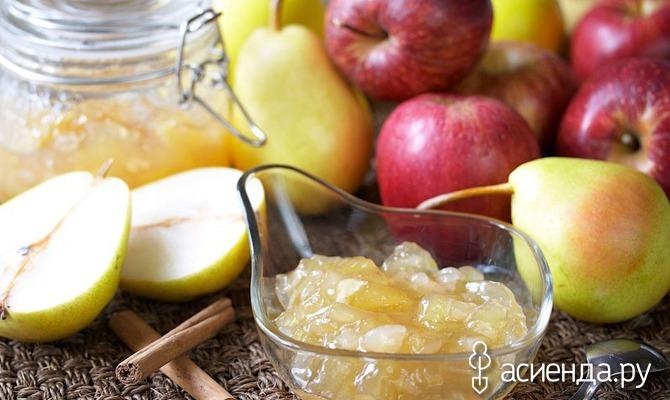из рецепты заготовки Зимние яблок