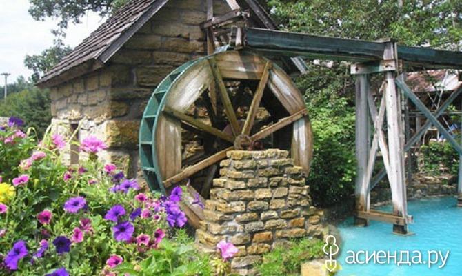Создание водяной мельницы