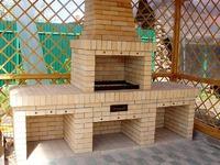 Строим на даче мангал из кирпича