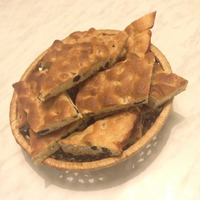 Орехово-изюмное печенье