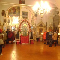 Пасха. Новотолучеево. Церковь Казанской иконы Божией Матери.