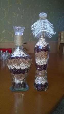 Красивые бутылочки...