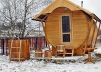 Мини-баня: как распланировать и построить