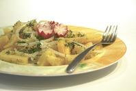 (видео) Традиционный сербский картофельный салат