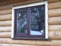 Пластиковые окна: хитрости монтажа в деревянном доме