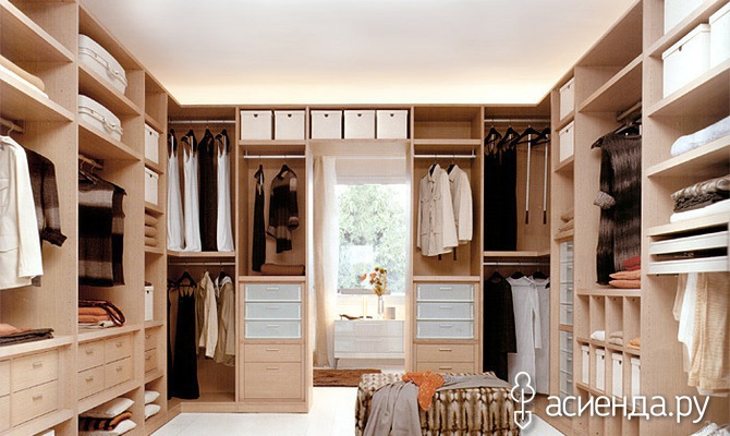 Гардеробная комната: размеры, планировка