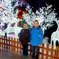 Рождество 2015 (Часть 1) В гости к Санте...