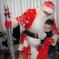 Дед Мороз с лампасами.