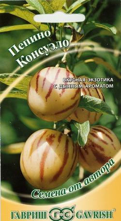 Выращиваю Пепино Консуэло из семян