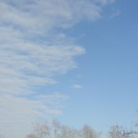 А облака...