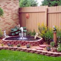 Садовые фонтаны своими руками