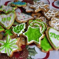 Мои Рождественские печеньки.