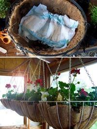 Чтобы цветы в кашпо всегда получали достаточно влаги