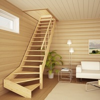 Деревянные лестницы для дачи своими руками