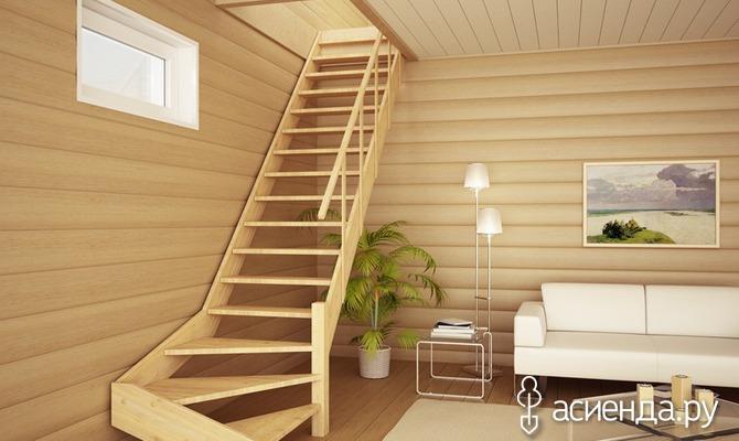 Лестница дачи своими руками дерева фото 364