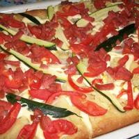 Пицца с кабачком