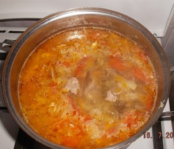 Супы из кабачков.