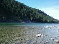 Река Абакан.